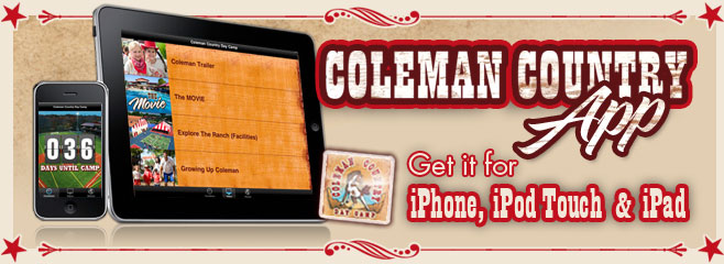 Coleman iPhone and iPad App