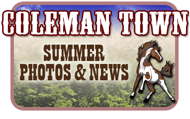 Coleman Town - Summer Photos and News