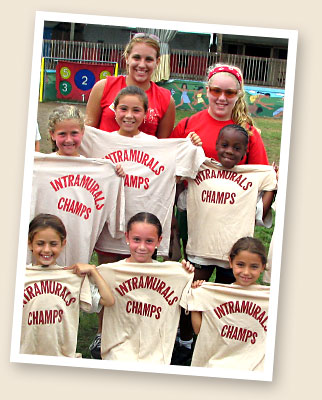 Athletics at Coleman Country Day Camp