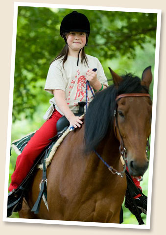 Coleman Day Camp Horseback Riding