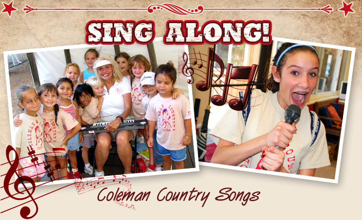 Coleman Day Camp Songs